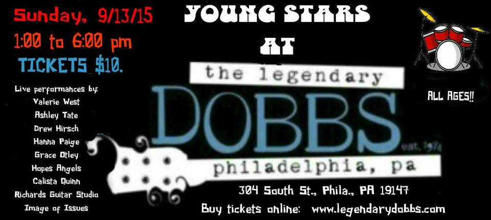 young stars at the legendary DOBBS